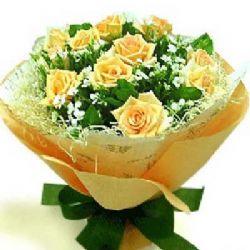 浓浓的相思/11朵黄玫瑰