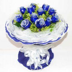 永恒誓言/11朵蓝玫瑰