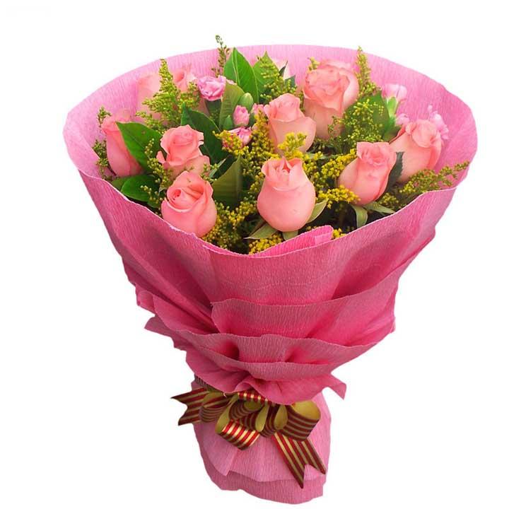 �H�鄣�/12朵粉玫瑰