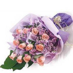 爱的宣言/12朵粉玫瑰