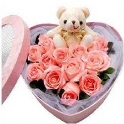 爱如美酒/12朵粉玫瑰