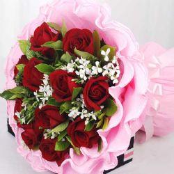 佳人有约/12朵红玫瑰