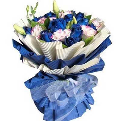 永恒的爱/18朵蓝玫瑰