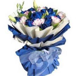 永恒的愛/18朵藍玫瑰
