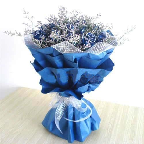 永恒/18朵蓝玫瑰