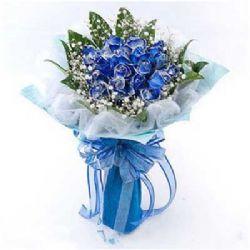 有你的幸福/19朵蓝玫瑰