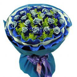 你是我的最爱/19朵蓝玫瑰