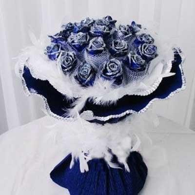 我爱你/20朵蓝玫瑰