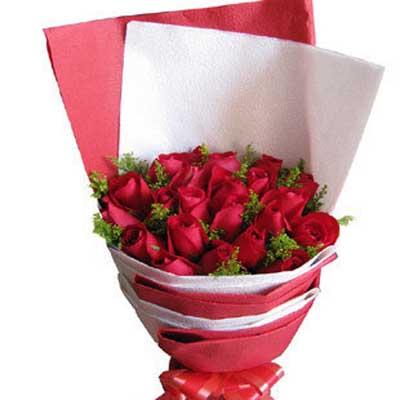 红色味道/22朵红玫瑰