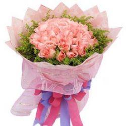 因为有你/22朵粉玫瑰