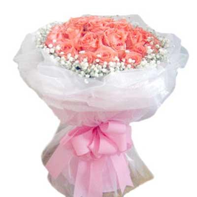 爱你/21朵粉玫瑰