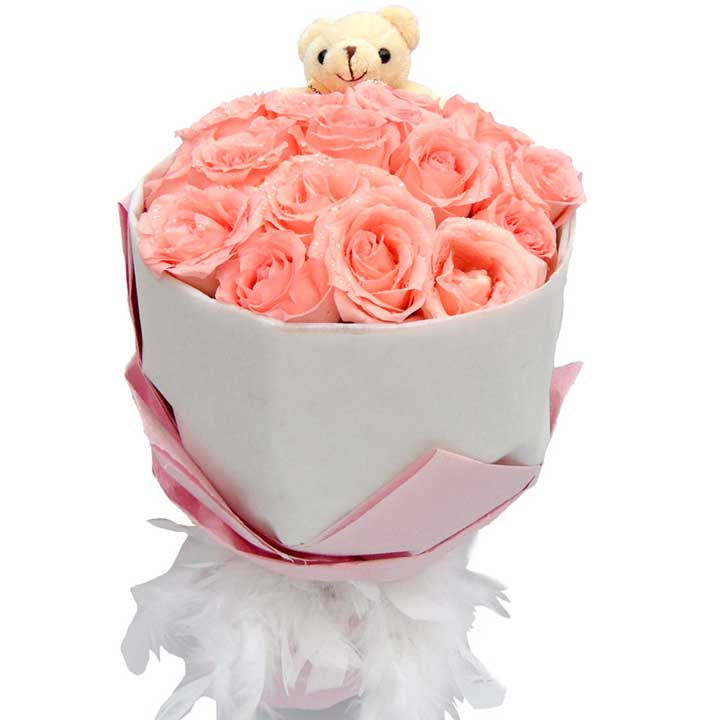 你的爱人/20朵粉玫瑰
