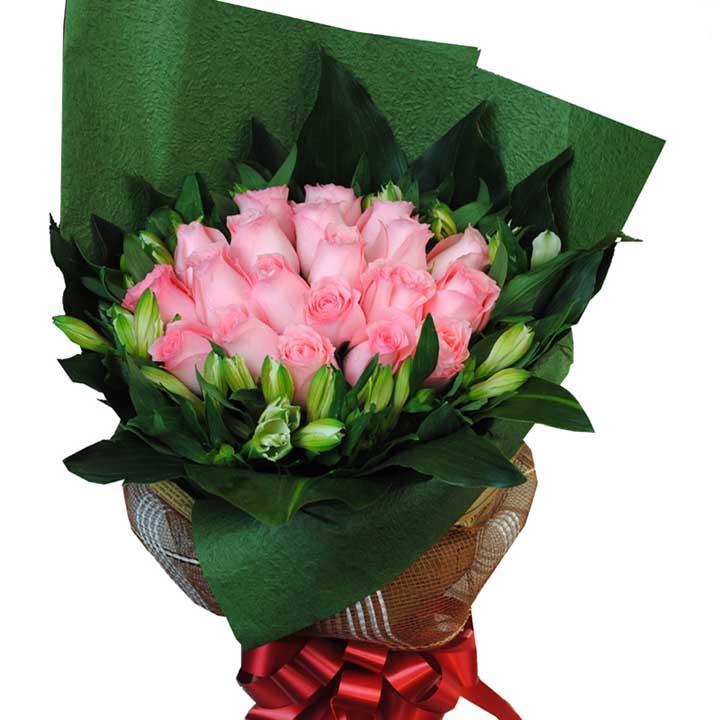 初恋的味道/20朵粉玫瑰
