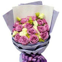 思念/20朵紫玫瑰