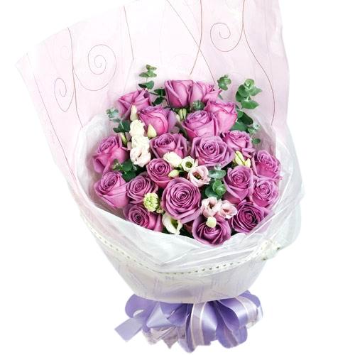 我对你的思念/20朵紫玫瑰
