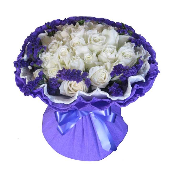 情不变/21朵白玫瑰
