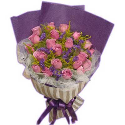 情谊/21朵紫玫瑰