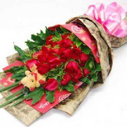 相约的鹊桥/20朵红玫瑰