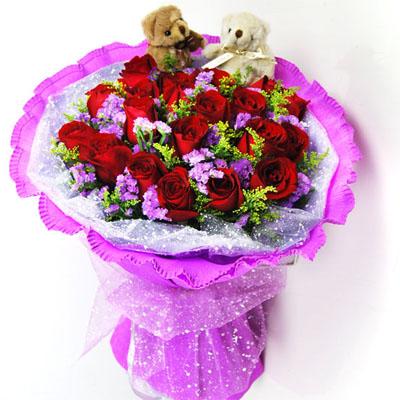 爱你直到永远/20朵红玫瑰