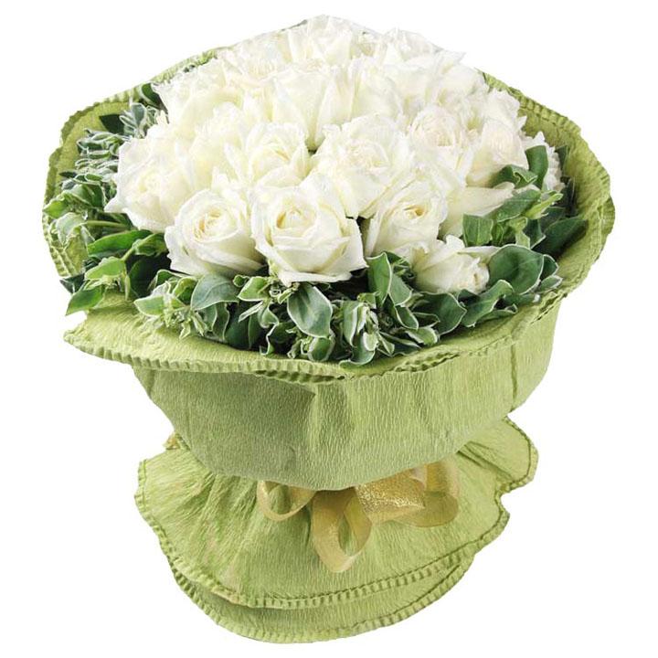 美��的回��/20朵白玫瑰