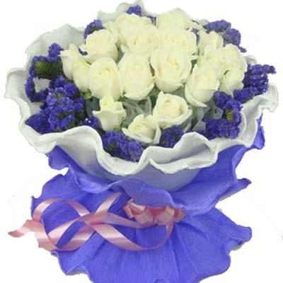 今生/19朵白玫瑰