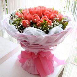 ���/19朵粉玫瑰