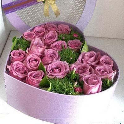朝思暮想/19朵紫玫瑰