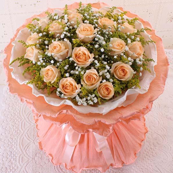 �鄣狞c滴/19朵香��玫瑰: 19朵香��玫瑰,�S�L�M天星�c�Y