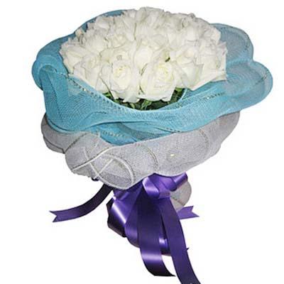 圣��的��/18朵白玫瑰