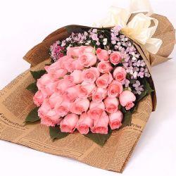 真情告白/33朵粉玫瑰