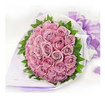 相知相許/33朵紫玫瑰