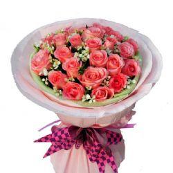 眷恋/33朵粉玫瑰