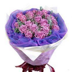 朝朝暮暮/18朵紫玫瑰
