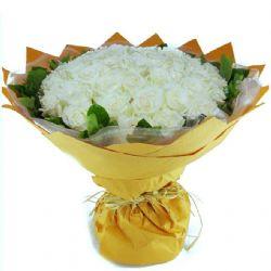 �矍槿缑�/50朵白玫瑰