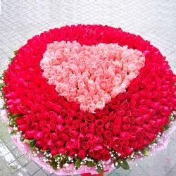 爱你一万年/999朵玫瑰
