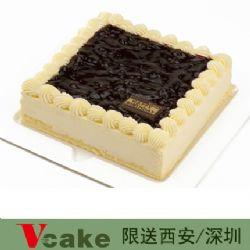 深圳vcake蛋糕/蓝莓慕斯(6寸/1.5磅)
