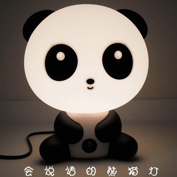 礼品/会说话的熊猫灯