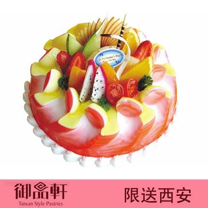 西安御品轩蛋糕/寿与天齐(12寸)