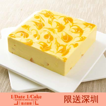 壹�c壹客蛋糕/MANGO CHEESE 芒果芝士(6寸)