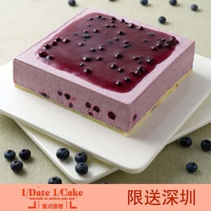 壹点壹客蛋糕/BLUEBERRY CHEESE 蓝莓芝士(6寸)