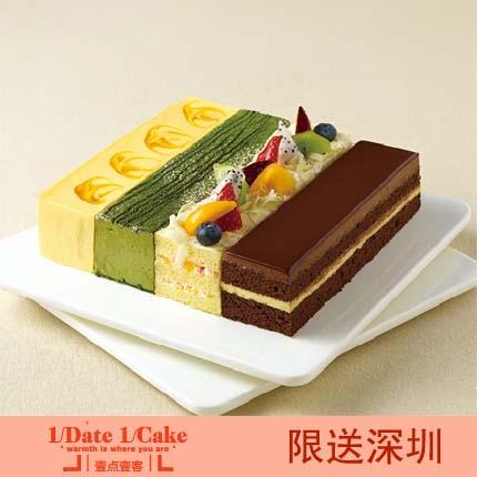 壹�c壹客蛋糕/Color Four 四季(8寸)
