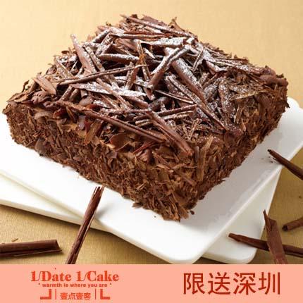 壹�c壹客蛋糕/BLACK FOREST黑森林(6寸)
