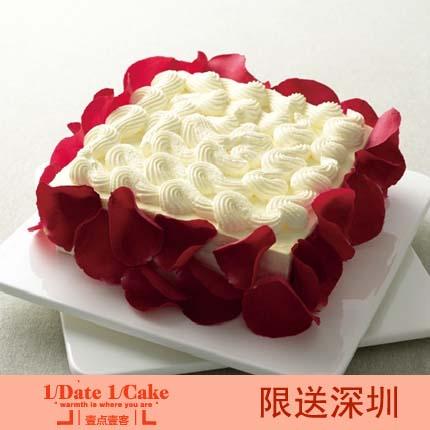 壹�c壹客蛋糕/ROSE LOVER 玫瑰情人(6寸)