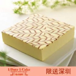 壹点壹客蛋糕/MARBLE CHEESE(Sugar-free) 常青藤(无糖)(6寸)