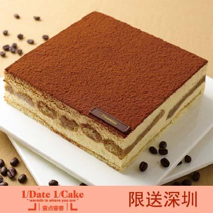 壹�c壹客蛋糕/TIRAMISU (Sugar-free)提拉米�K(�o糖)(6寸)