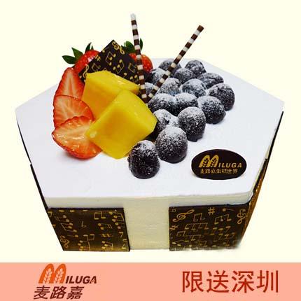 麦路嘉蛋糕/原味慕斯(8寸)