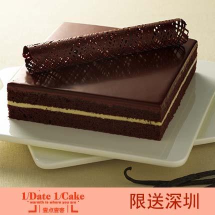 壹点壹客蛋糕/Temptation 黑金暗香(6寸)