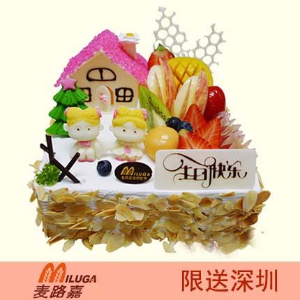 麦路嘉蛋糕/儿童乐园(8寸)