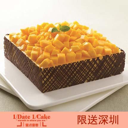 壹�c壹客蛋糕/MANGO 芒果慕斯(6寸)