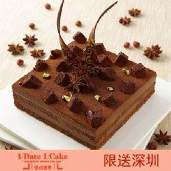 壹点壹客蛋糕/HAZELNUT MOUSSE 法国榛子(6寸)